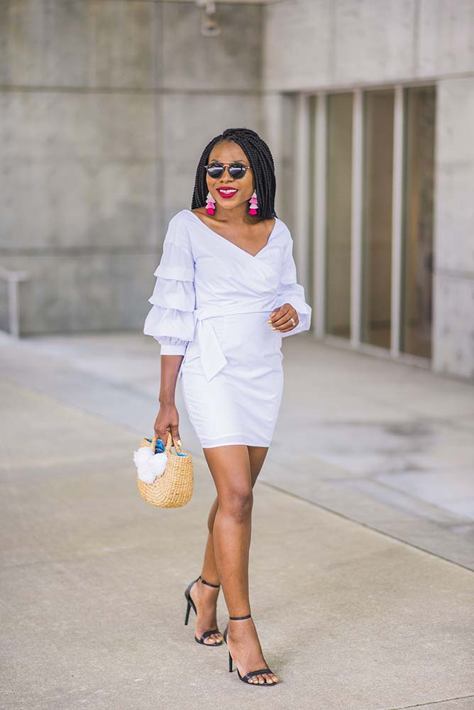 How to style a Little White Dress