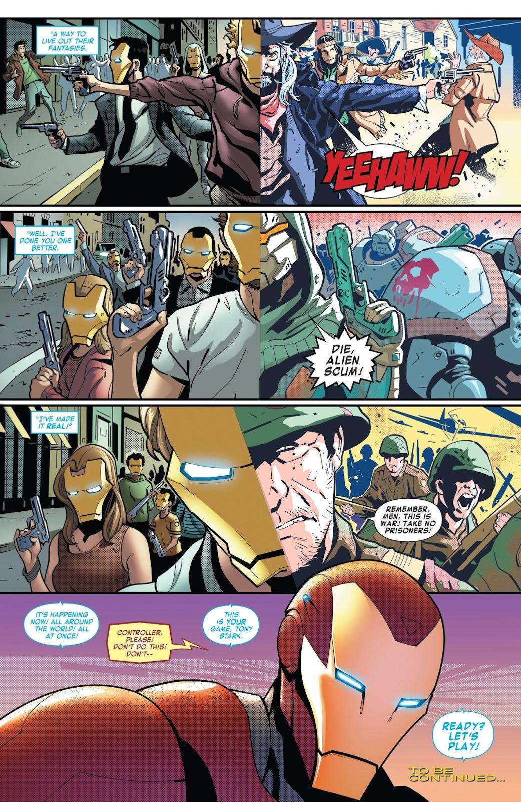 Read online Tony Stark: Iron Man comic -  Issue #7 - 21
