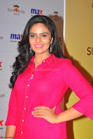 Sree Mukhi in Pink Kurti looks beautiful at Meet and Greet Session at Max Store (24).JPG