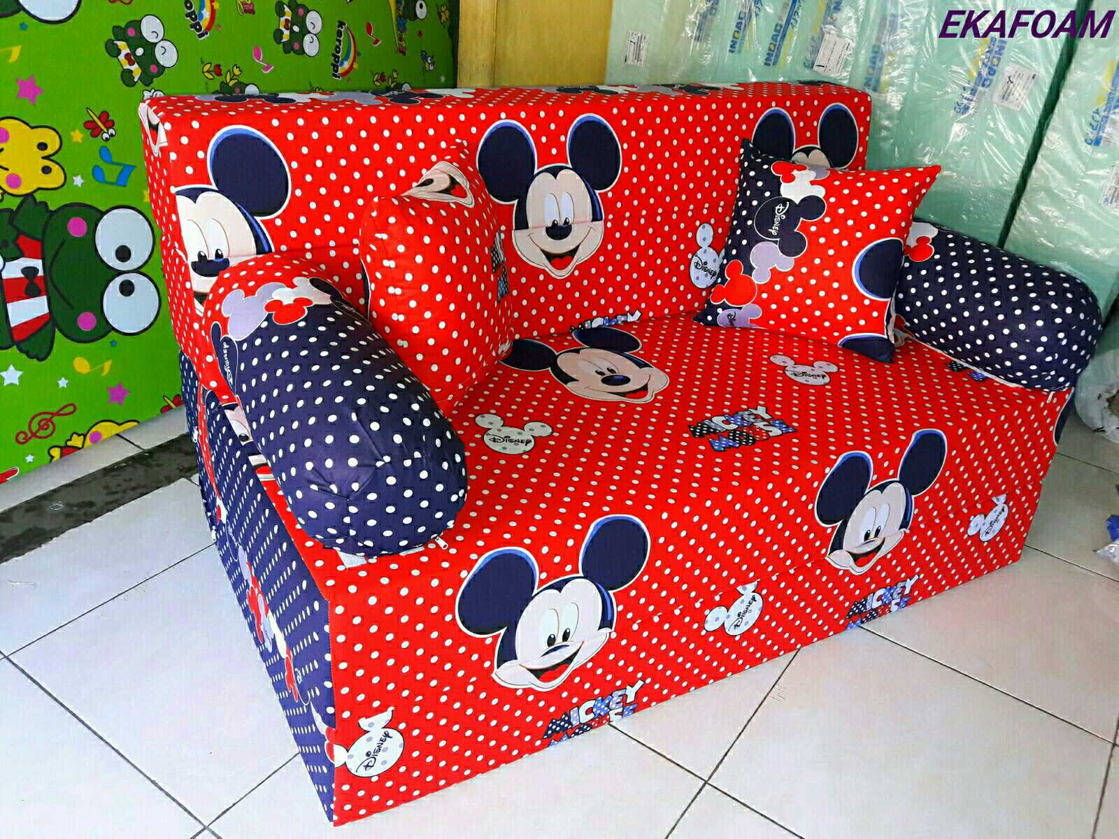 Harga Sofa Bed Inoac 2017 High End Traditional Sectional Sofas Full Motif Agen Resmi Kasur Busa