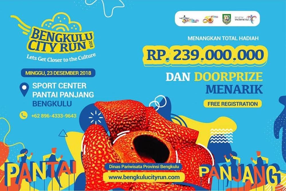 Bengkulu City Run • 2018