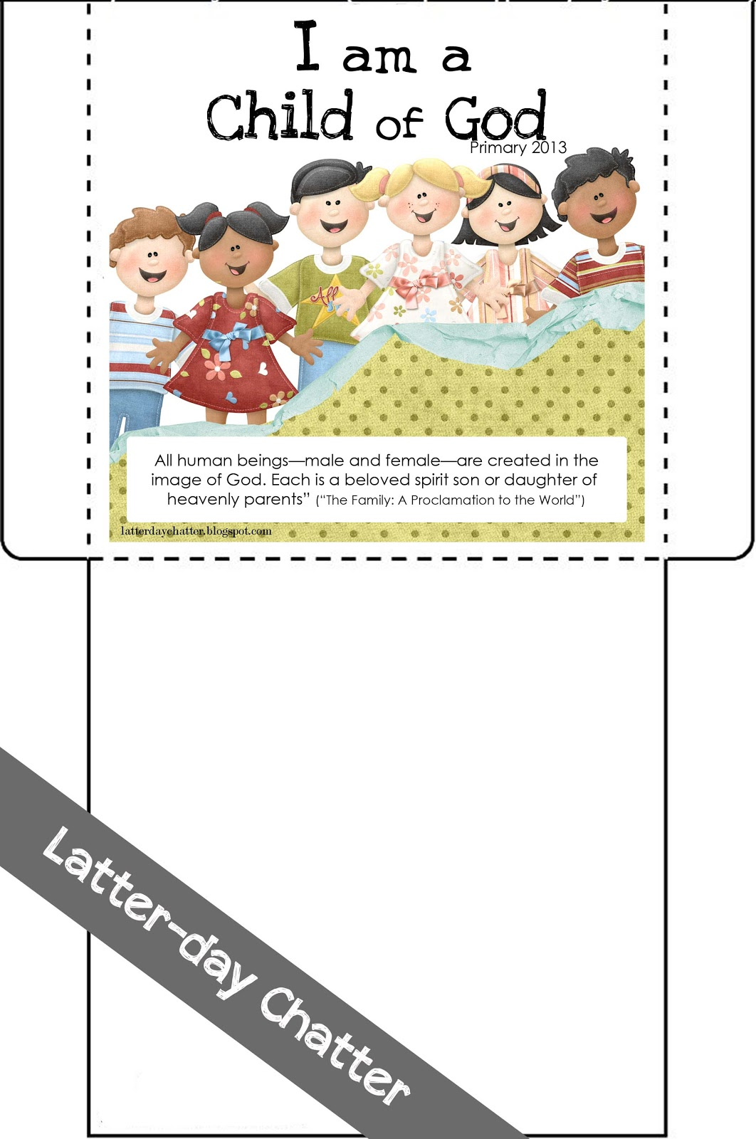 Latter day chatter october 2012 for Avery template 8695