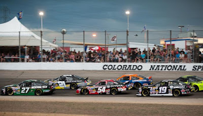 The #NASCAR K&N Pro Series West season hits the halfway mark with the NAPA/Toyota 150 at Colorado National Speedway