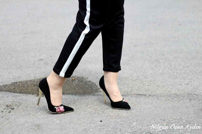 alışveriş-nakışlı stilettolar-ayakkabı sitesi-moda blogu-fashion blogger-fashion blog-beyaz şeritli pantolon