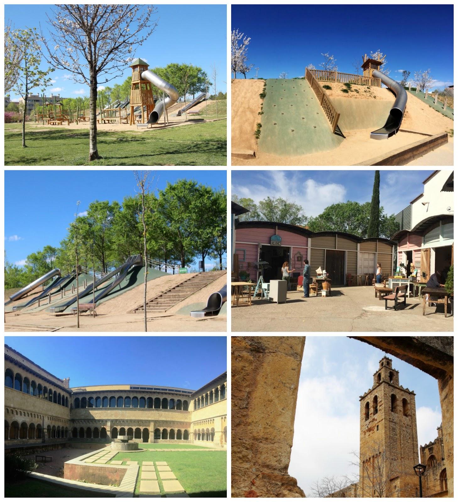 Parque Toboganes Gigantes Can Mates Mercantic Y Monasterio Sant  # Sant Cugat Muebles Antiguos
