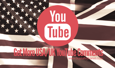 Buy USA UK YouTube Comments