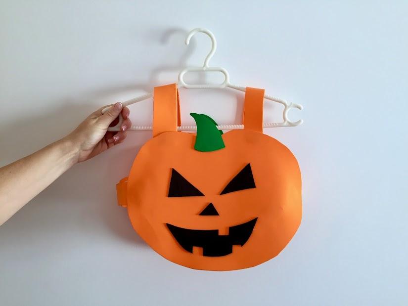 Disfraz de calabaza exprés para la fiesta de Halloween