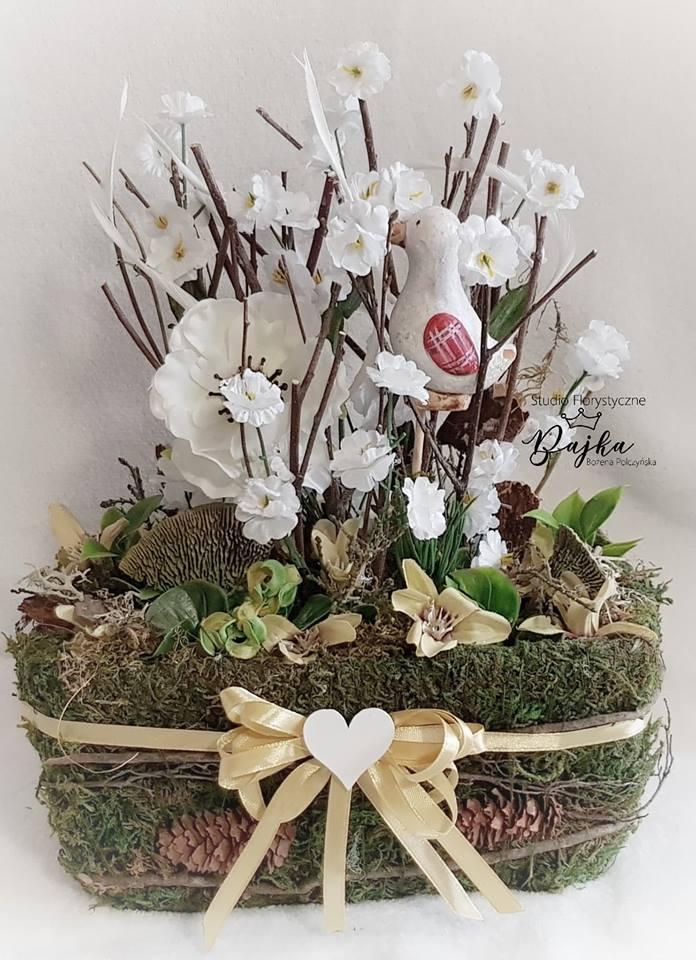 Dekoracje Wiosenne I Wielkanocne Ogród W Szkle