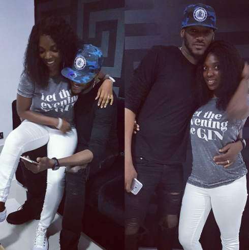 Image result for annie idibia with husband