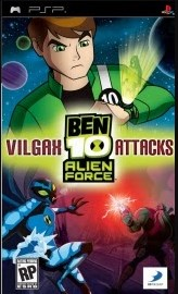 Game Ben 10 Alien Force Vilgax Attacks PSP Highly Compressed
