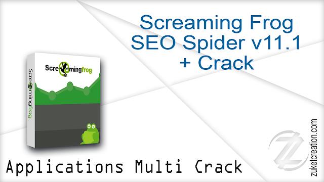 Screaming Frog SEO Spider v11.1 + Crack