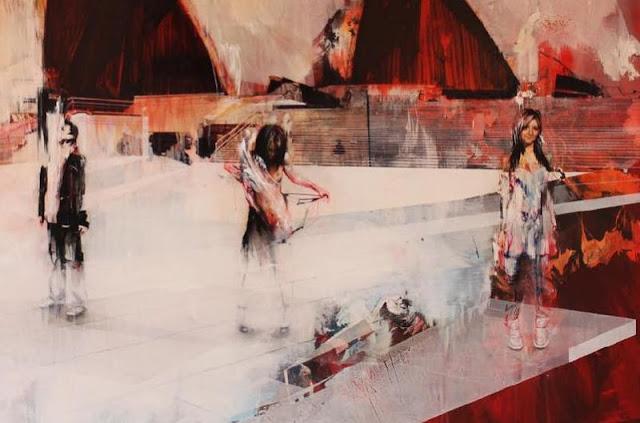 Живопись на грани реализма и абстракции. Ian Francis