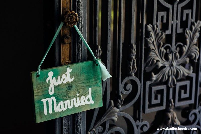 recem casados - placas casamentos - plaquinha casamento