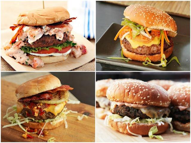 Variation Homemade Hamburger