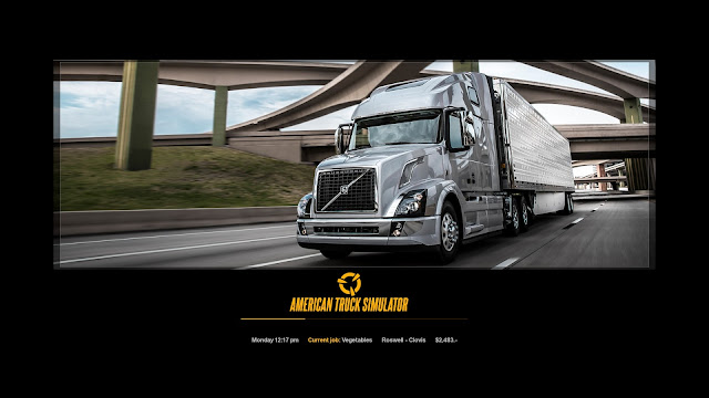 ats new photo loading screens 2, volvo vnl