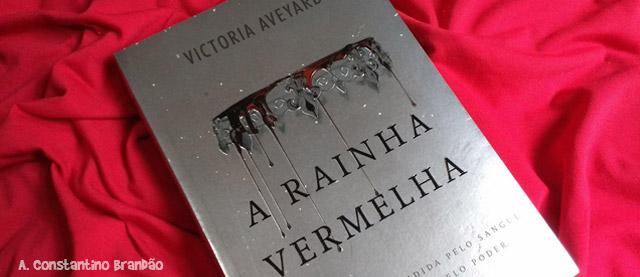 capa do livro A Rainha Vermelha