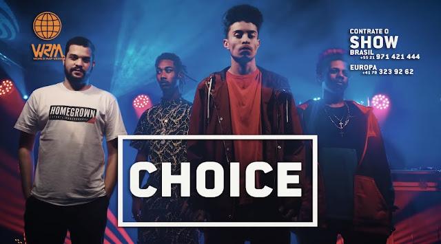 """Choice apresenta """"21 Balas"""", """"Inabaláveis"""" e """"Super Hip-Hop"""" em Showcase da WRM"""