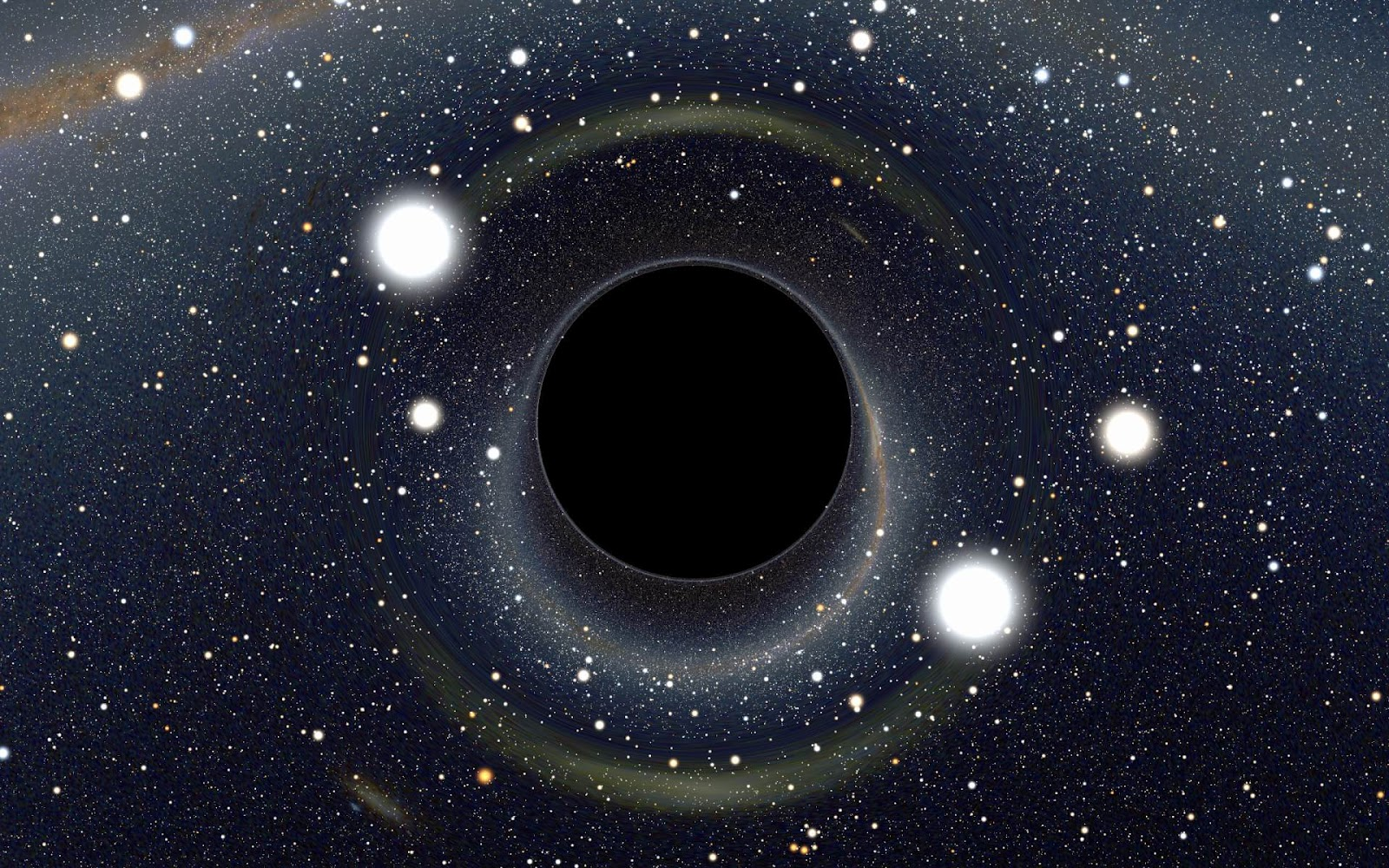 black holes in space - photo #35