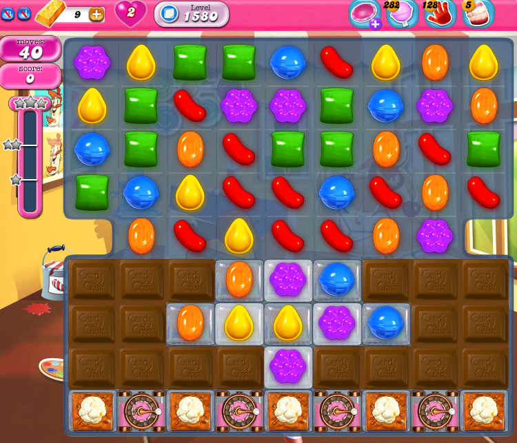 Candy Crush Saga 1580