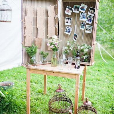 13 idées inspirantes d'objets détournés pour un mariage eco-friendly blog mariage www.unjourmonprinceviendra26.com