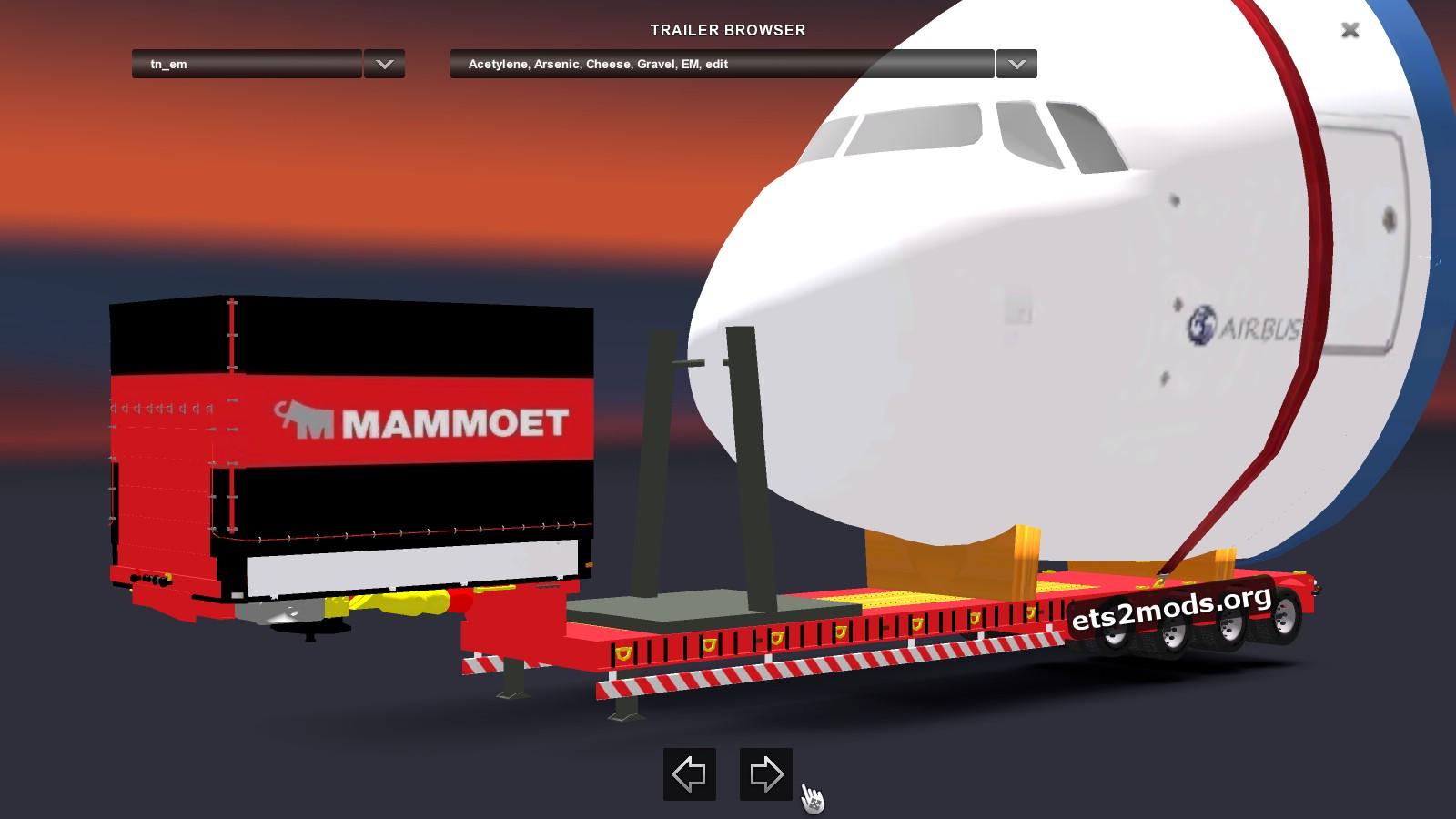 Trailer Cargo Plane Head