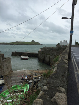 Dalkey Island, Colliemore Harbour, Dublin Bay, Ireland, photo