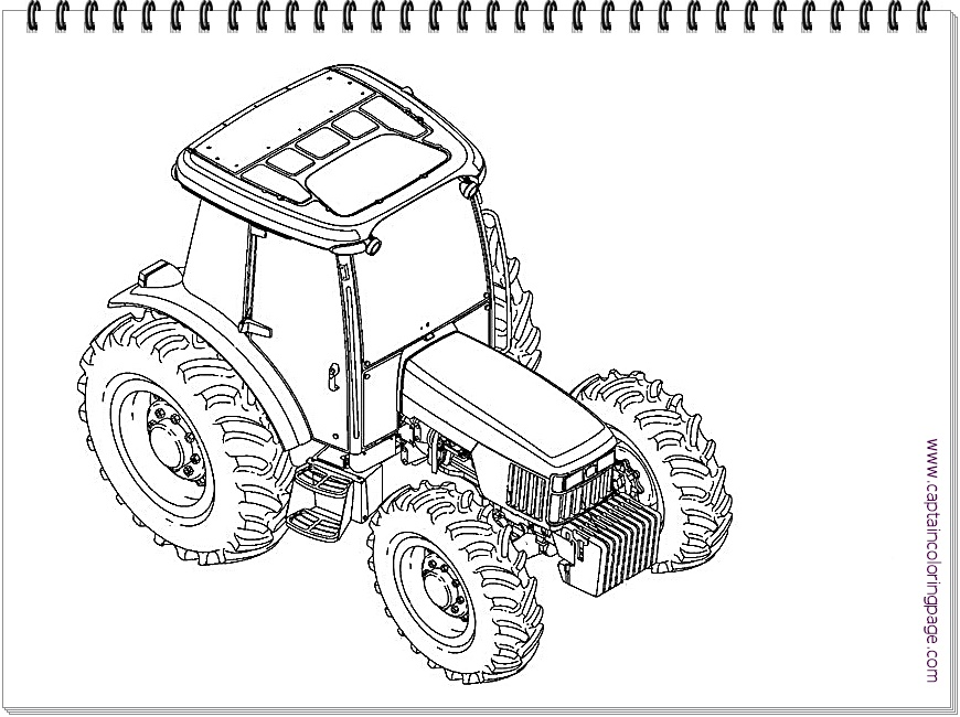 32 Tractor Coloring Pages John Deere