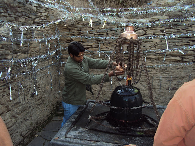 shivling in temple