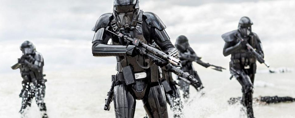 Death Trooper Not Authentic To Star Wars.