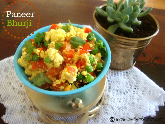 images for Paneer Bhurji Recipe / Paneer Burji Recipe - Easy Paneer Side Dish