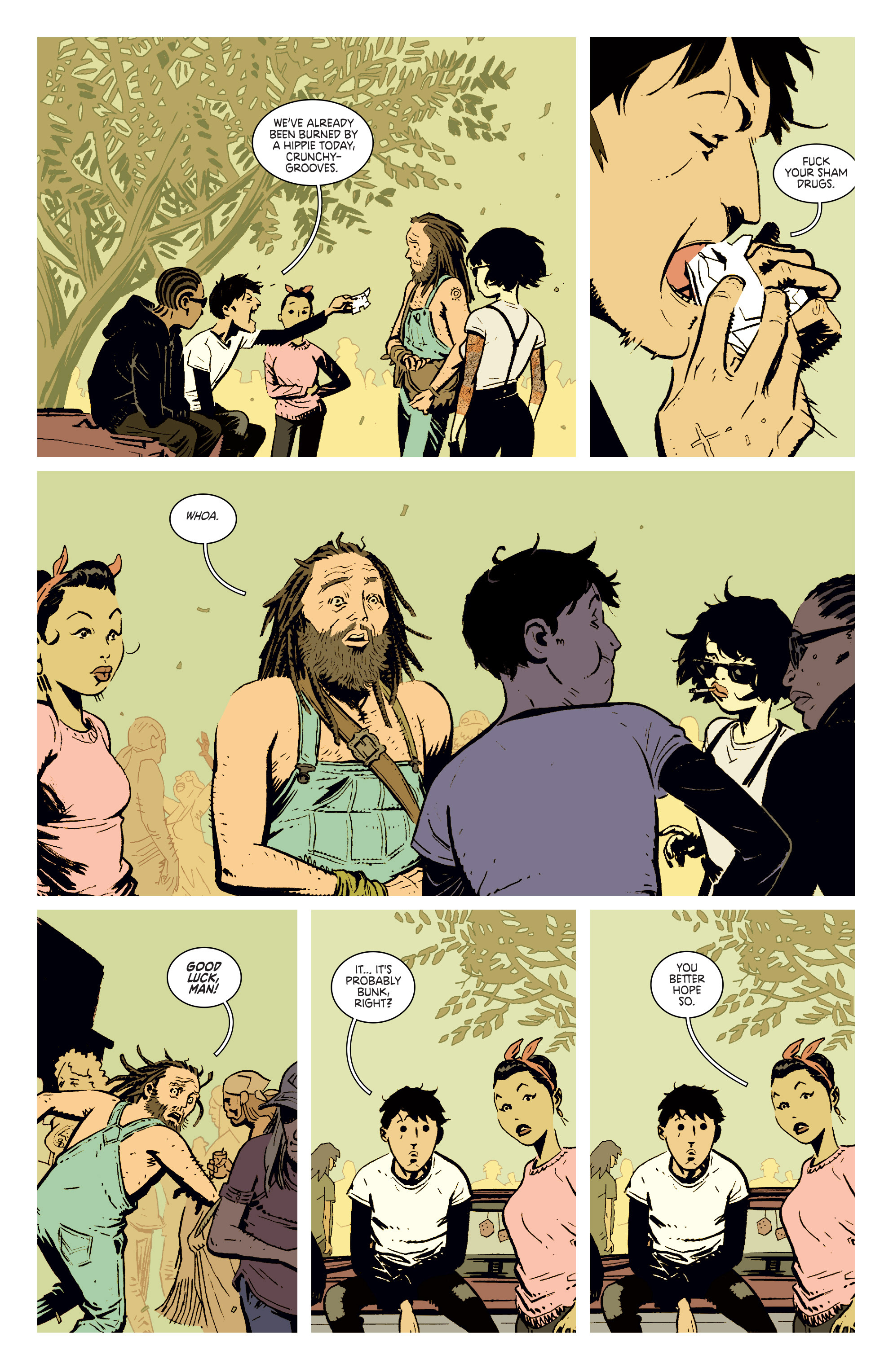 Read online Deadly Class comic -  Issue #4 - 18