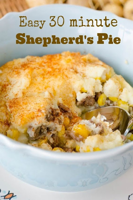 Our 30 Minute Bake Easy Shepherd's Pie