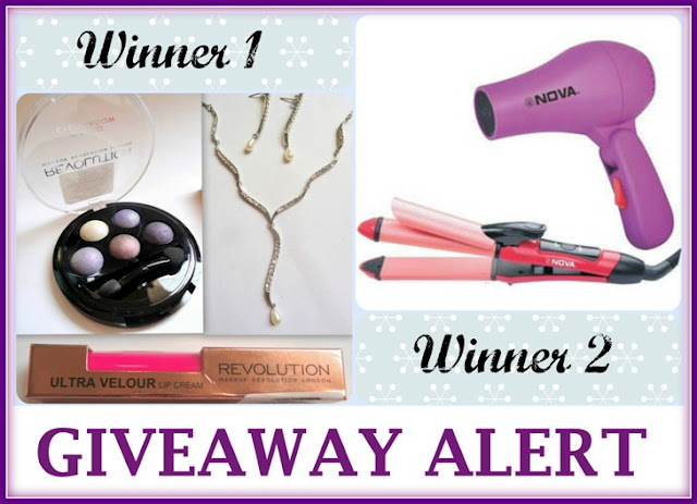 Blushing shimmers giveaway