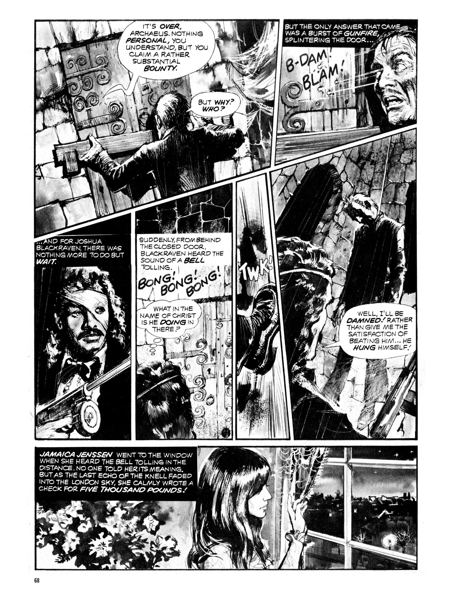 Read online Eerie Archives comic -  Issue # TPB 13 - 69