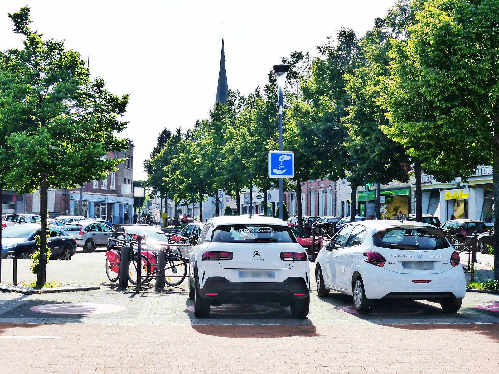 Citiz Autopartage Tourcoing - Station TG Centre