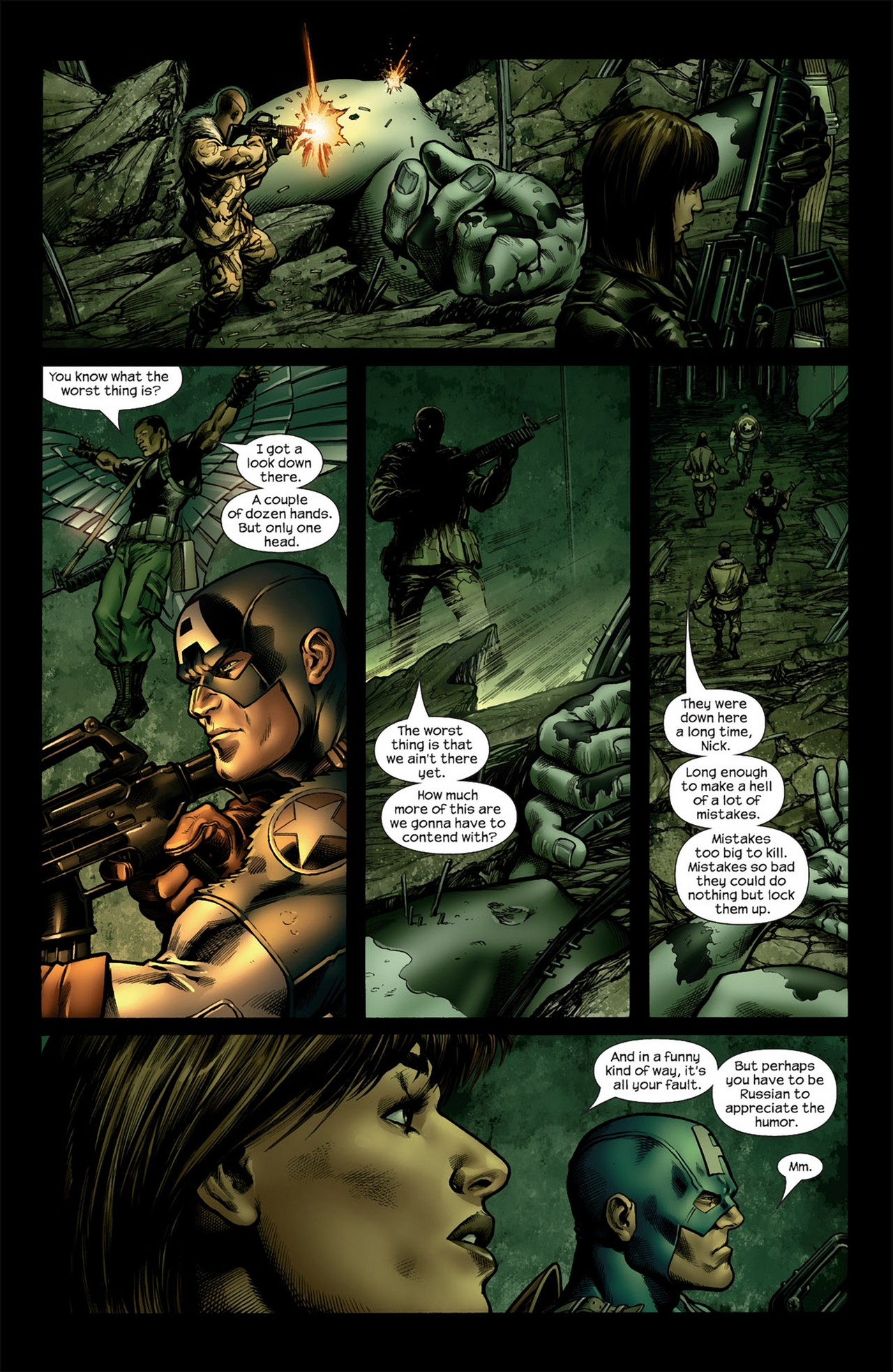 Read online Ultimate Nightmare comic -  Issue #4 - 11