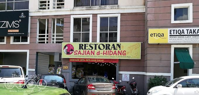 Makan Nasi Dalai Di Restoran Sajian d-Hidang Shah Alam