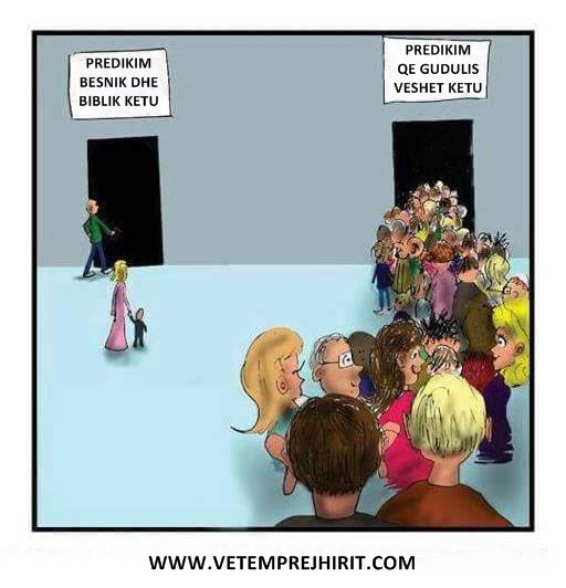 predikimi, kisha, thenie te krishtera