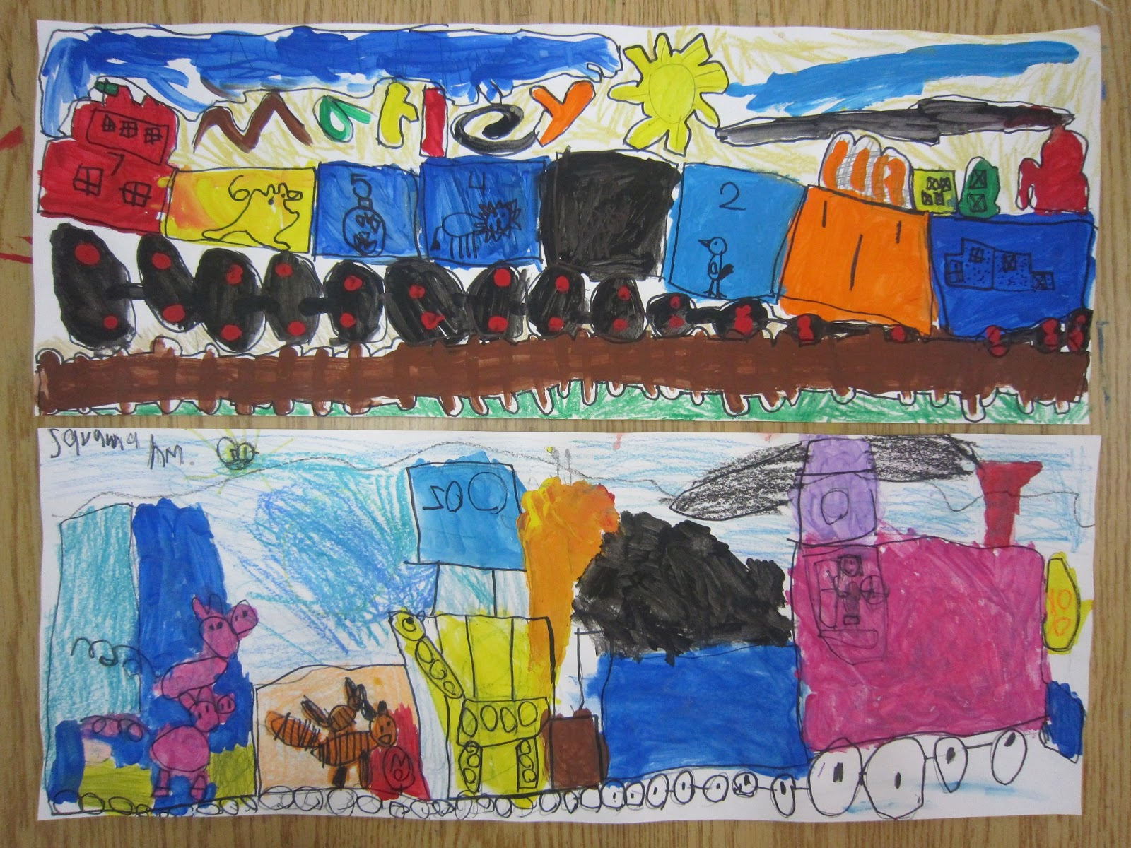The Blue Horse Kindergarten Art Lessons