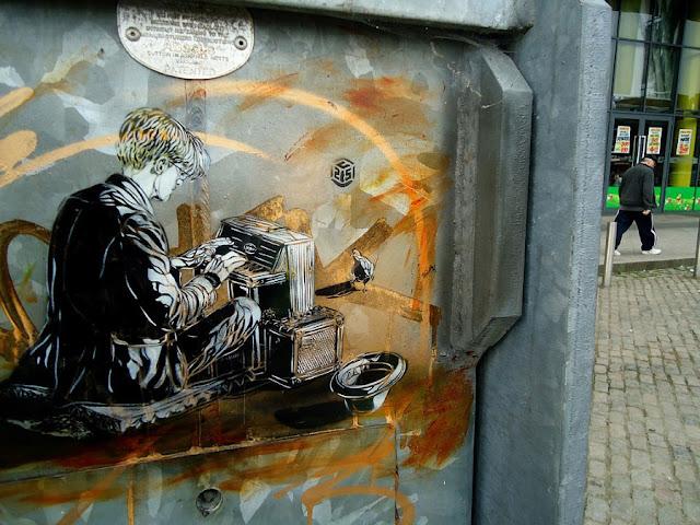 Уличное искусство Кристиана Гуеми (Christian Guémy aka C215) 49
