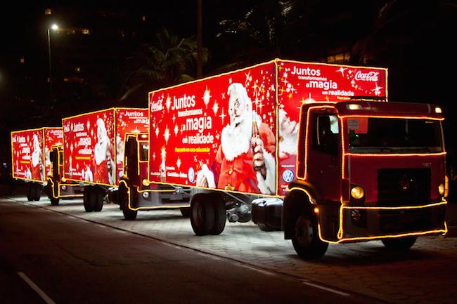 Caravanas Iluminadas de Natal