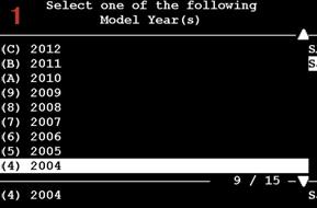 Tech 2 program DLR, add UEC module (manual)