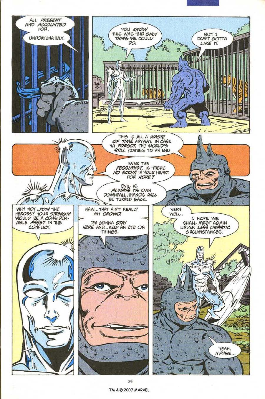 Read online Silver Surfer (1987) comic -  Issue #54 - 31