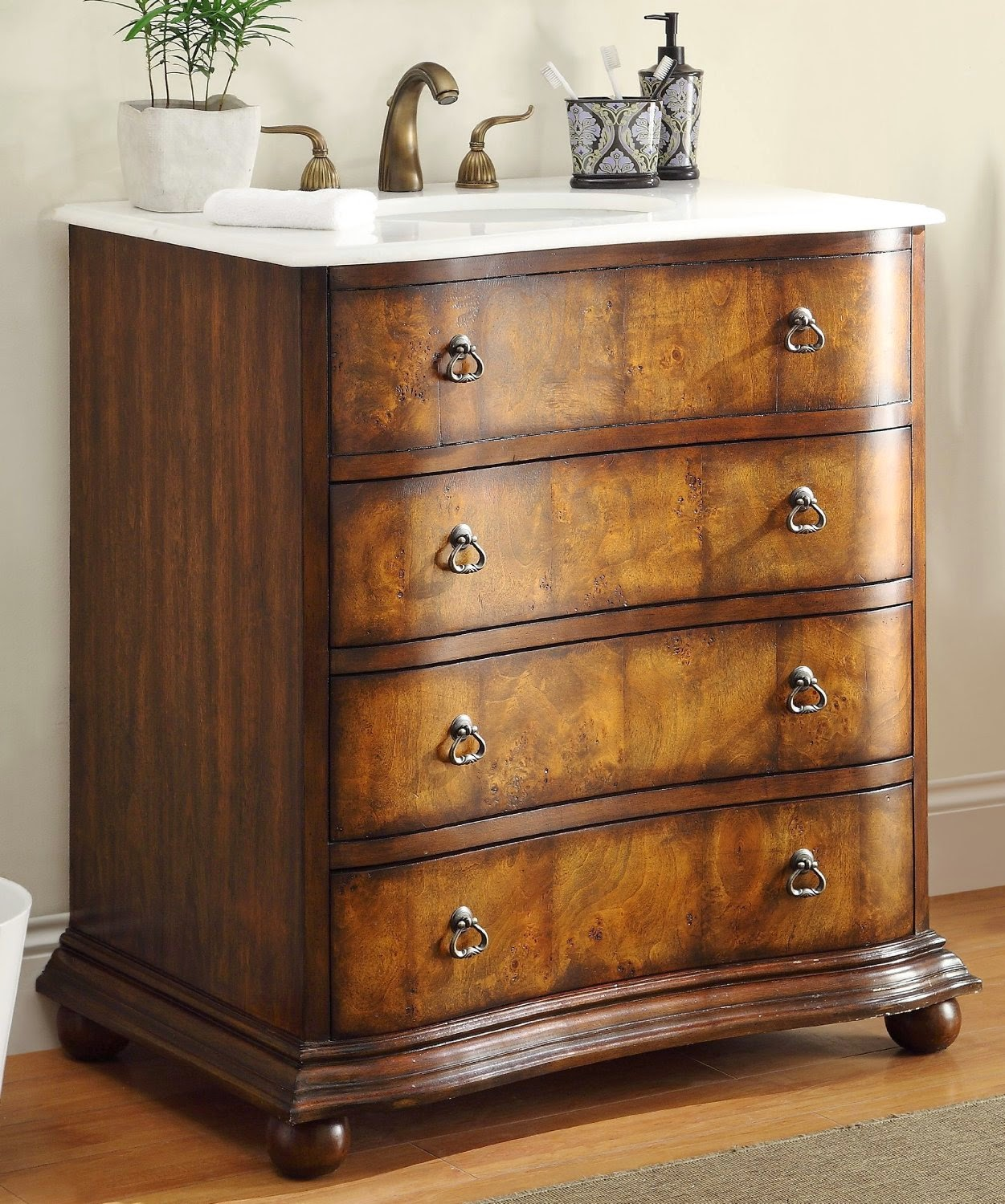 Discount Bathroom Vanities: Antique Bathroom Vanities ...