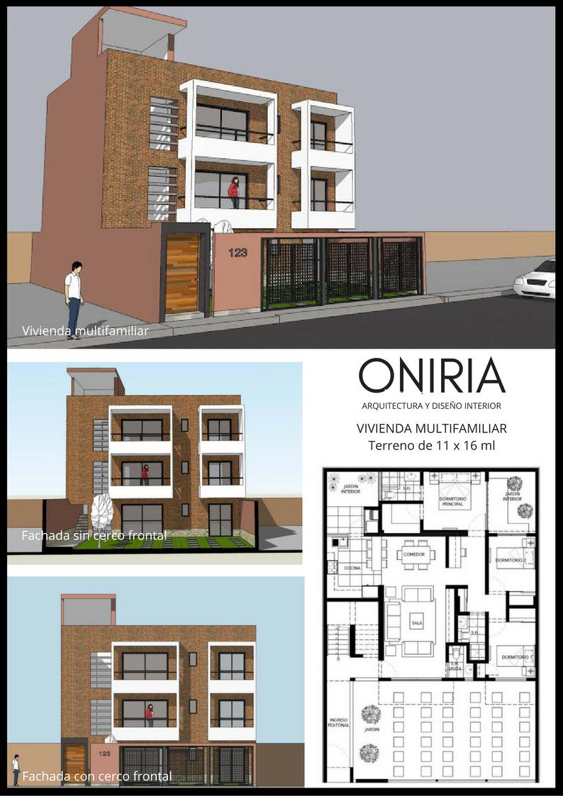 Oniria planos gratuitos de vivienda multifamiliar for Planos de viviendas de un piso