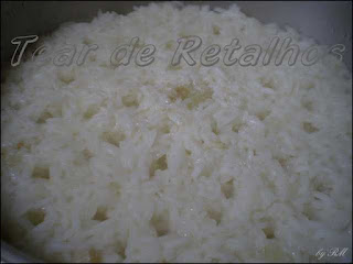 Arroz semi-pronto
