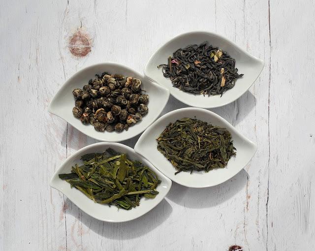 zielona herbata susz