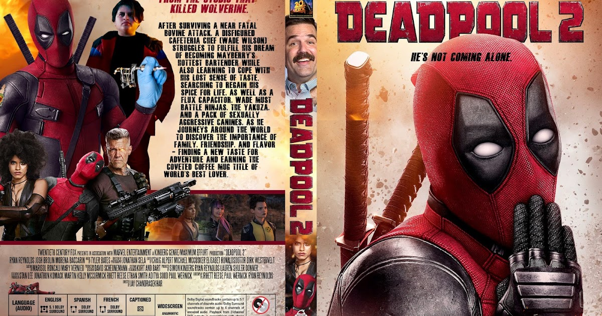 Deadpool 2 DVD Cover -...