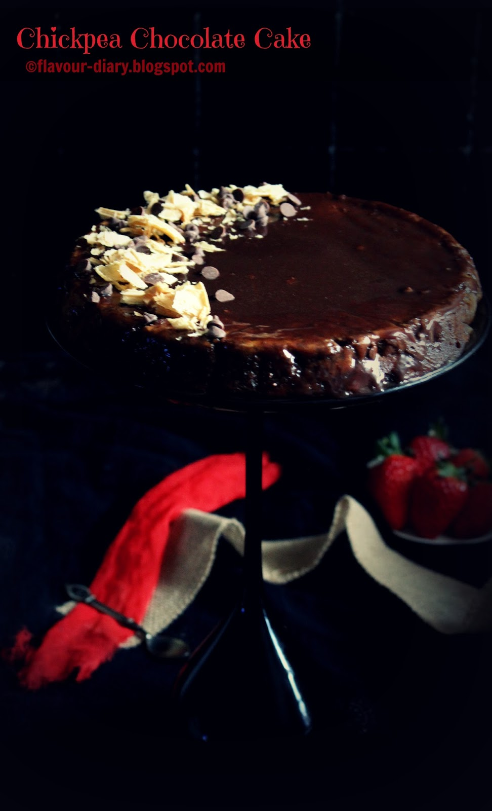 Chickpea Chocolate Cake Gluten Free Butter Less