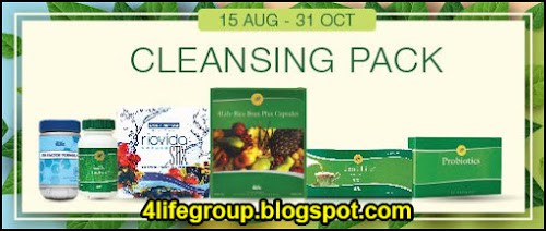 foto 4Life Malaysia Cleansing Pack Promotion